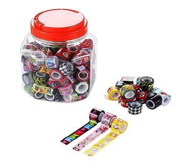 Mini Washi Tape - 10 pcs