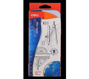 Deli EG30505 Zamak Compass W/Pencil 2 PCS 2C