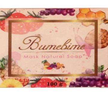 Product details of Bumebine Mask Natural Whitening Thailand Best Magical Soap - 100 gm made from the natural extracts and collagen mixed with a variet