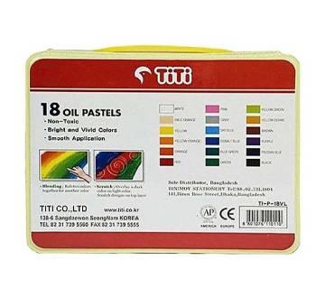 18 Non-Toxic Oil Pastels