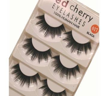 Red Cherry 100% Human Hair 5 Pair Eyelash - 017