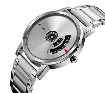 SKMEI Stainless Steel Analog Digital Watch for Men