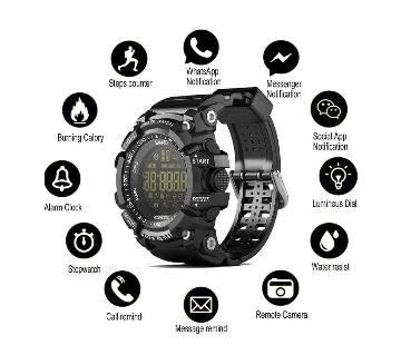 EX16 Smart Watch Waterproof Sport Watch IP67 Mens Wristwatch