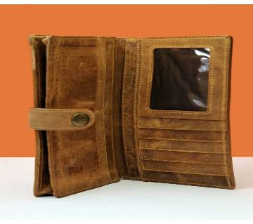 GENUINE LEATHER LONG WALLET WITH MOBILE POCKET FASHION MENS WALLET ORIGINAL COW LEATHER