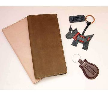 GENUINE LEATHER LONG WALLET FASHION MENS LONG WALLET ORIGINAL COW LEATHER