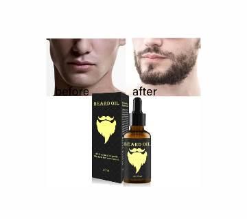 Men beard hair product of loss of growth beard oil 30ml uk