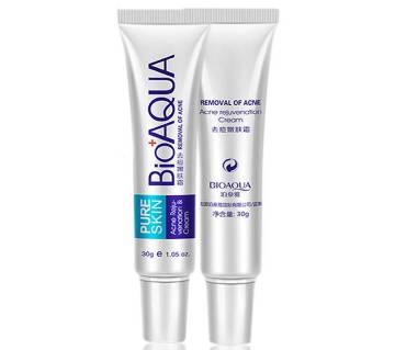 Bioaqua anti acne cream 30ml china