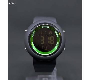 Digital Sports wristwatch for men-Black