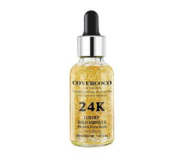 Covercoco 24k Gold Ampoule & Luxury Diamond Ampoule Serum-30 ML-China