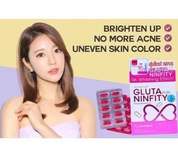 Gluta Plus Ninfity-30pcs- Thailand