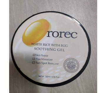 Rorec White Rice With Egg Soothing Gel 300 g Malaysia