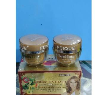 FEIQUE Herbal Extract Skin Whitening Anti-Freckle Cream 20g*2 Taiwan