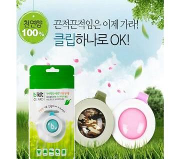 Bikit Guard Mosquito Repellent Clip - 1 set (4 pcs)-Korea