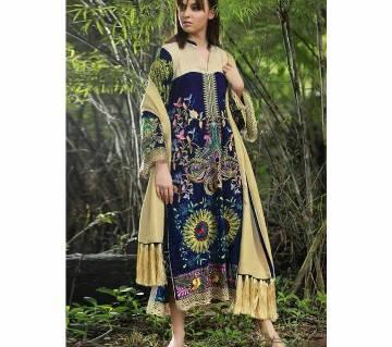 Semi Stitched  JUVI FASHION QALAMKAR VOL 2 Suits