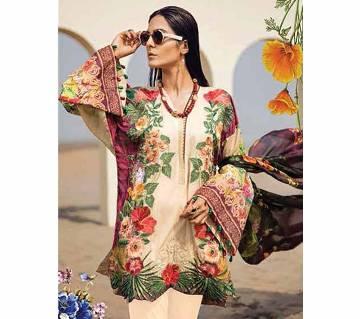 Unstitched Sana Safinaz Summer Collection 19 Juvi Fashion Suits