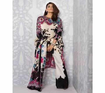 Unstitched Sana Safinaz Latest Designer Ladies Suits