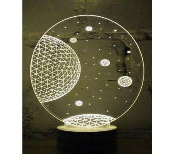 Beautiful LED Lamp - 31 - Universe
