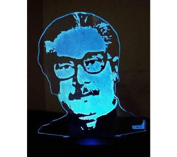 Beautiful LED Lamp - 14 - Sheikh Mujibur Rahim