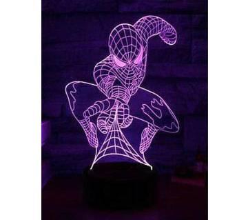 Beautiful LED Lamp - 15 - Spider Man