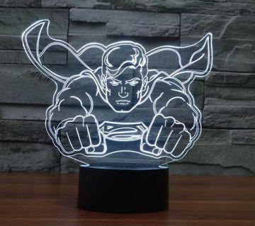 Beautiful LED Lamp - 22 - Superman