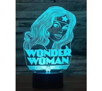 Beautiful LED Lamp - 24 - Wonder Woman