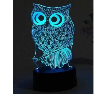 Beautiful LED Lamp - 08 - Owl