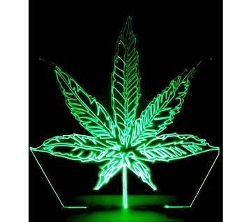 Beautiful LED Lamp - 07 - Leaf