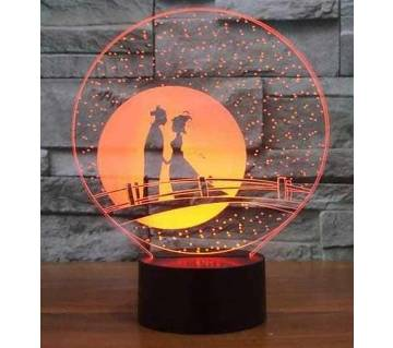 Beautiful LED Lamp - 03 - Couple