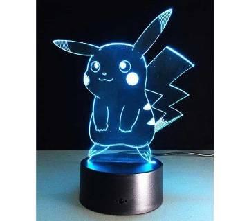 Beautiful LED Lamp - 01 - Pikachu