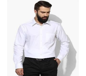 White Formal Shirt for Men