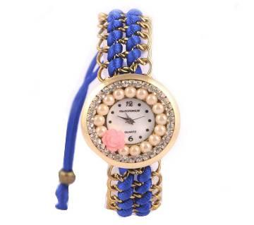 Bracelet  wrist Watch for Women-Blue