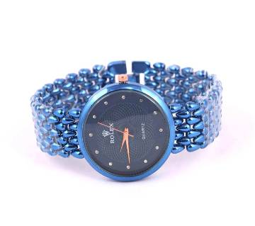 Stylish  Blue Ladies Watch