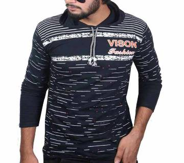 Full Sleeve Cotton Hoodie T Shirt