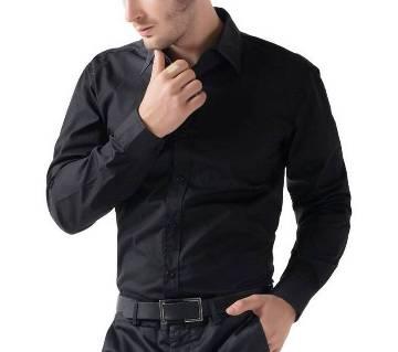 Black Formal Shirt for Men