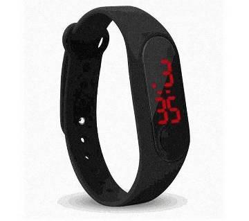 Black LED Sports Watch