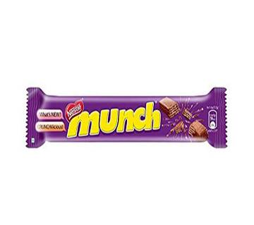 Nestle Munch Crunchilicious Chocolate 24PC Box Pack-India
