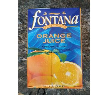 Fontana Orange Juice-1ltr-Cyprus
