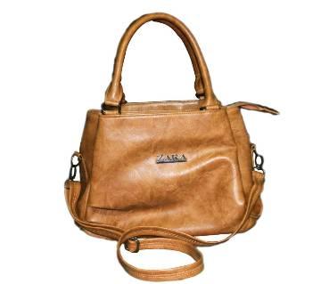 ZARA Artificial Leather Ladies Handbag- 3 part