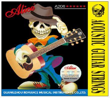 Alice brand acoustic guitar strings