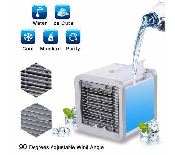 Mini_Air_Cooler_Cooling_USB Original Fan Conditioner With Colorful LED Portable Desk Room