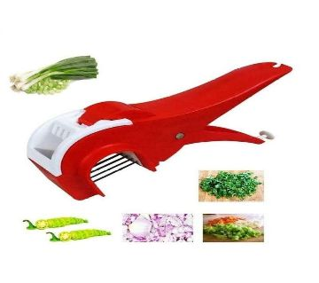 Vegetable/ Fruit Multi Cutter and Peeler- Multicolor