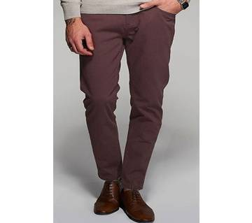Levis Maroon Stretch Chinos- CAP