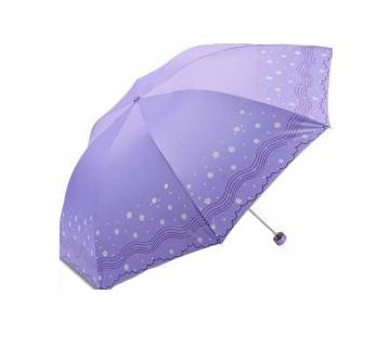 3 Folding Umbrella Purple  711  MOJ