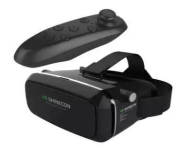 3D Virtual Reality Glasses With Bluetooth Remote Controller  GNG1
