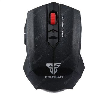 Fantech WG7 2000DPI 2.4GHz Wireless 6 Button Gaming Mouse  Black  BCL1
