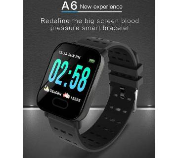 A6 Smart Bracelet 1.3 Inch Bluetooth Sports Smartwatch 1
