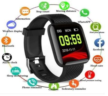 D13 Plus Waterproof Smart Sports Watch1