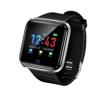D28 Smart Watch  Black  Chg1