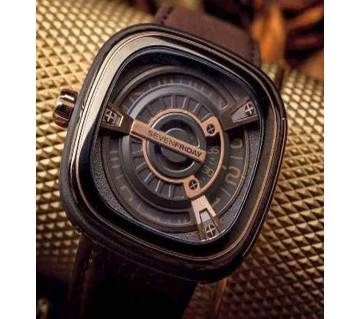 Sevenfriday Mens Wrist Watch Copy 01 Chocolate  B241