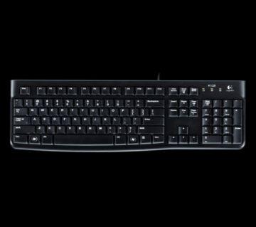 Logitech K120 Usb Keyboard With Bangla Black (920-008363)